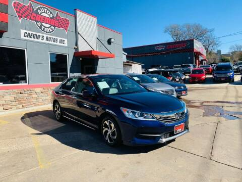 2017 Honda Accord for sale at Chema's Autos & Tires in Tyler TX