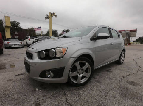 2013 Chevrolet Sonic for sale at Friendly Auto Sales in Pasadena TX
