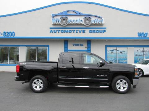 2014 Chevrolet Silverado 1500 for sale at The Wholesale Outlet in Blackwood NJ