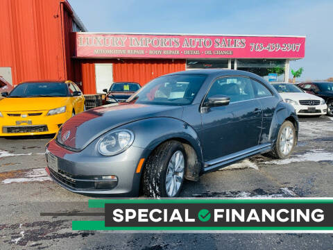 2013 Volkswagen Beetle for sale at LUXURY IMPORTS AUTO SALES INC in North Branch MN