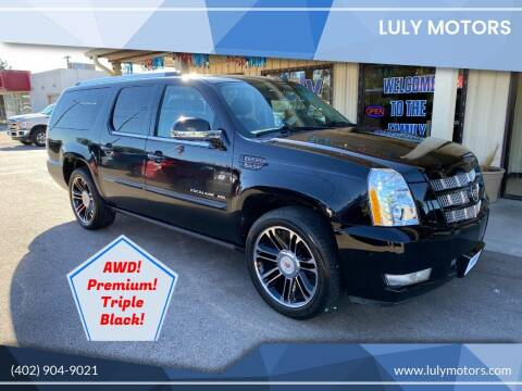 2012 Cadillac Escalade ESV for sale at Luly Motors in Lincoln NE