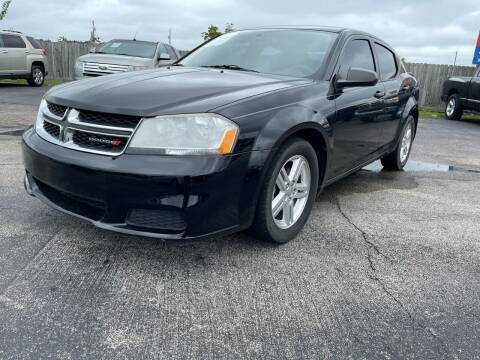 2014 Dodge Avenger for sale at H3 MOTORS in Dickinson TX