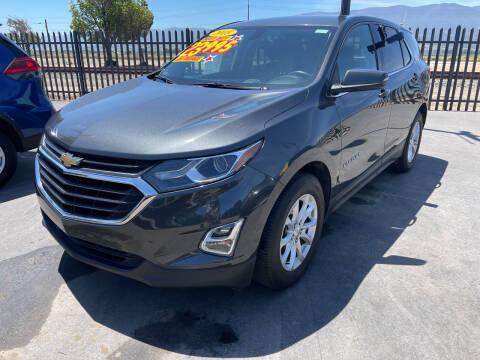 2018 Chevrolet Equinox for sale at Soledad Auto Sales in Soledad CA