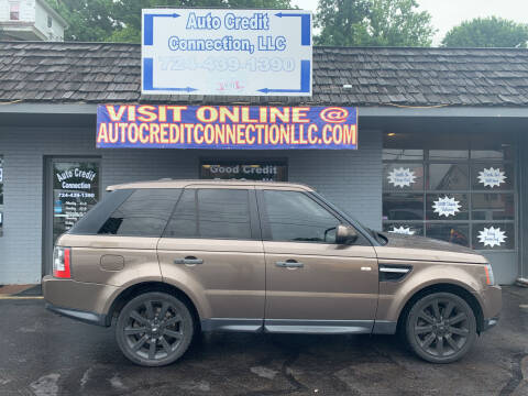 2010 Land Rover Range Rover Sport for sale at Auto Credit Connection LLC in Uniontown PA