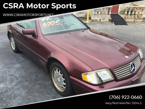 1997 Mercedes-Benz SL-Class for sale at CSRA Motor Sports in Augusta GA