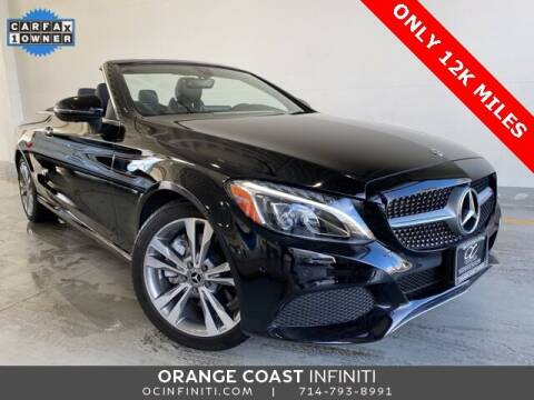 2018 Mercedes-Benz C-Class for sale at ORANGE COAST CARS in Westminster CA