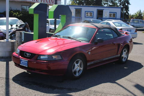2004 Ford Mustang for sale at BAYSIDE AUTO SALES in Everett WA