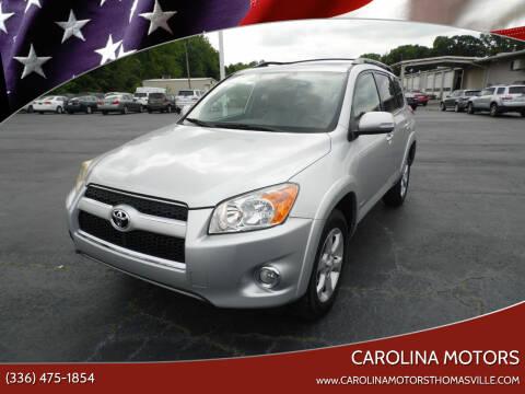 2010 Toyota RAV4 for sale at CAROLINA MOTORS in Thomasville NC