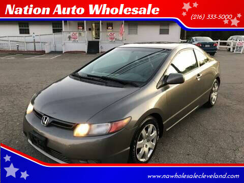 2006 Honda Civic for sale at Nation Auto Wholesale in Cleveland OH