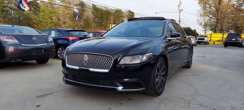 2017 Lincoln Continental for sale at DADA AUTO INC in Monroe NC