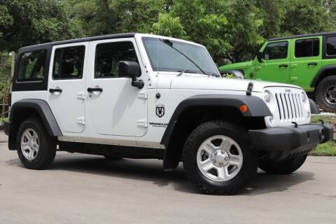 2015 Jeep Wrangler Unlimited for sale at SELECT JEEPS INC in League City TX