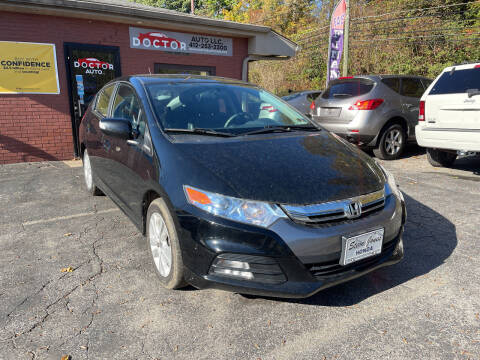 2012 Honda Insight for sale at Doctor Auto in Cecil PA