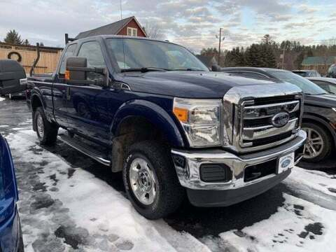 2012 Ford F-250 Super Duty for sale at SCHURMAN MOTOR COMPANY in Lancaster NH