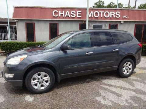 2011 Chevrolet Traverse for sale at Chase Motors Inc in Stafford TX