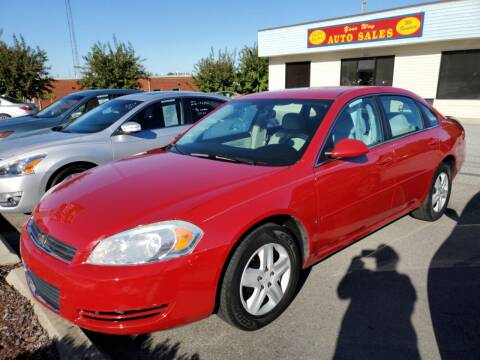 2008 Chevrolet Impala for sale at YOUR WAY AUTO SALES INC in Greensboro NC