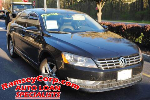 2012 Volkswagen Passat for sale at Ramsey Corp. in West Milford NJ