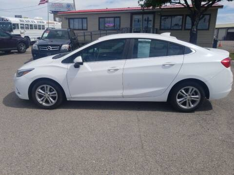 2018 Chevrolet Cruze for sale at Revolution Auto Group in Idaho Falls ID
