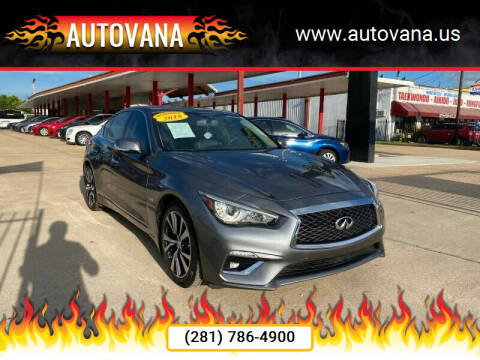 2018 Infiniti Q50 for sale at AutoVana in Humble TX