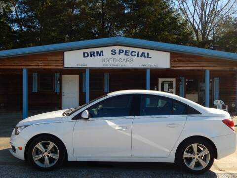 2015 Chevrolet Cruze for sale at DRM Special Used Cars in Starkville MS