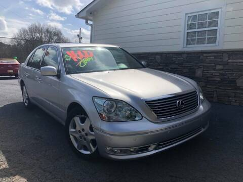 2004 Lexus LS 430 for sale at No Full Coverage Auto Sales in Austell GA