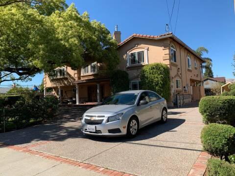 2013 Chevrolet Cruze for sale at Blue Eagle Motors in Fremont CA