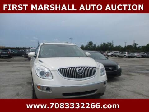 2012 Buick Enclave for sale at First Marshall Auto Auction in Harvey IL