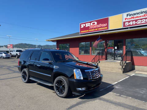 2013 Cadillac Escalade for sale at Pro Motors in Roseburg OR