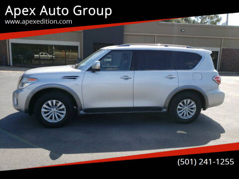 2017 Nissan Armada for sale at Apex Auto Group in Cabot AR