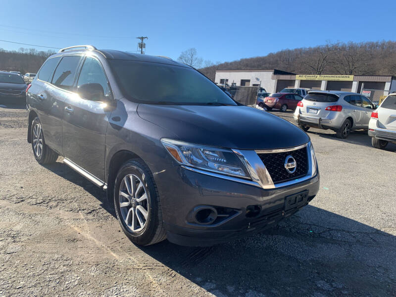 2014 Nissan Pathfinder for sale at Ron Motor Inc. in Wantage NJ