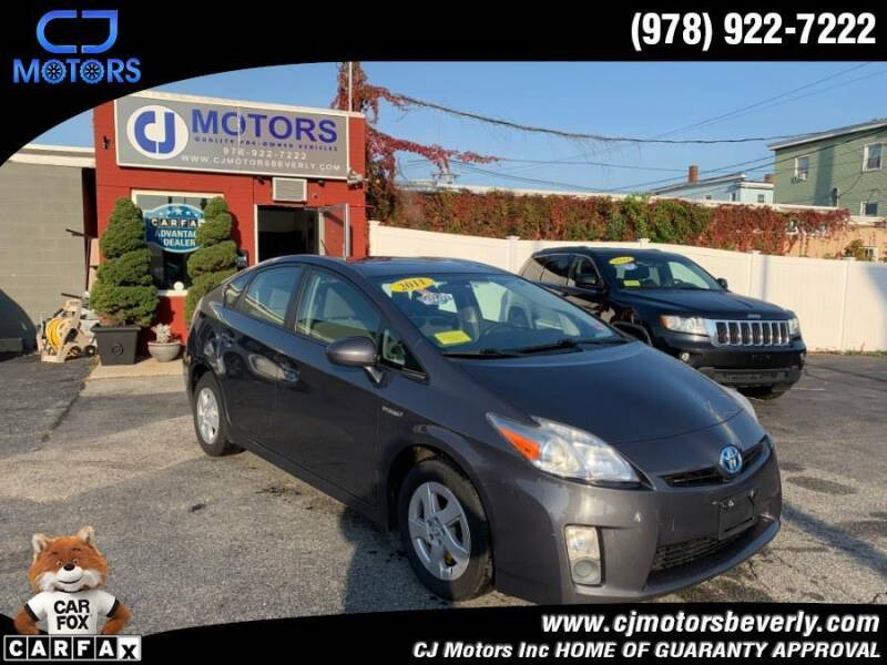 2011 Toyota Prius for sale at CJ Motors Inc. in Beverly MA