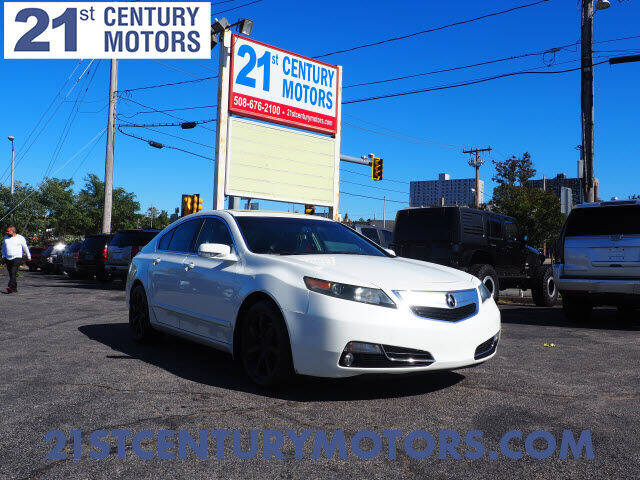 2012 Acura TL for sale at 21st Century Motors in Fall River MA