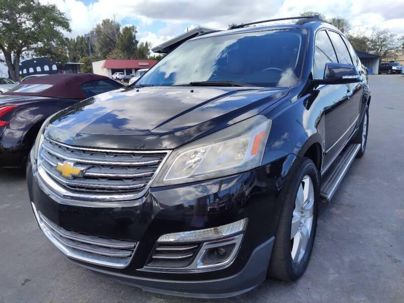2013 Chevrolet Traverse for sale at Celebrity Auto Sales in Port Saint Lucie FL