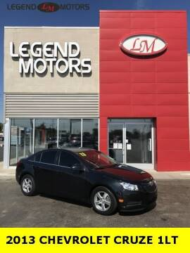 2013 Chevrolet Cruze for sale at Legend Motors of Waterford - Legend Motors of Ferndale in Ferndale MI
