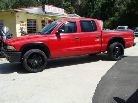 2004 Dodge Dakota for sale at VANS CARS AND TRUCKS in Brooksville FL