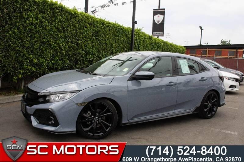 2018 Honda Civic for sale in Placentia, CA