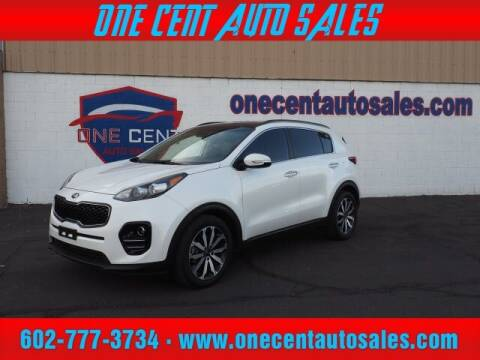 2018 Kia Sportage for sale at One Cent Auto Sales in Glendale AZ