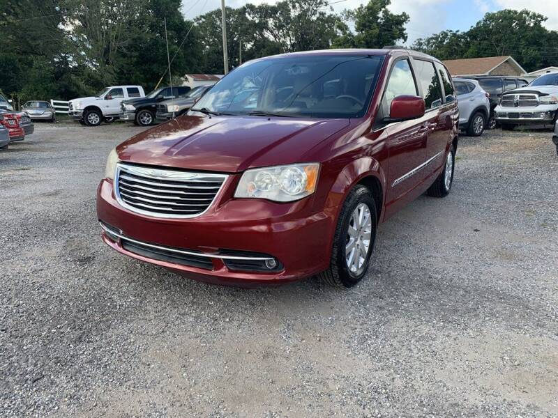 2013 Chrysler Town and Country for sale at THE COLISEUM MOTORS in Pensacola FL
