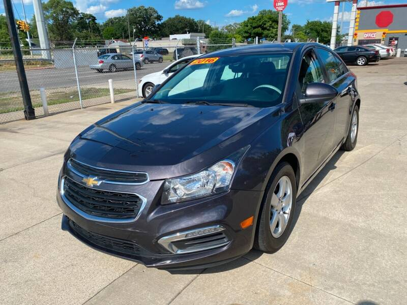 2016 Chevrolet Cruze Limited for sale at Matthew's Stop & Look Auto Sales in Detroit MI