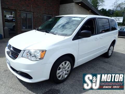 2017 Dodge Grand Caravan for sale at S & J Motor Co Inc. in Merrimack NH