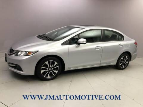 2013 Honda Civic for sale at J & M Automotive in Naugatuck CT