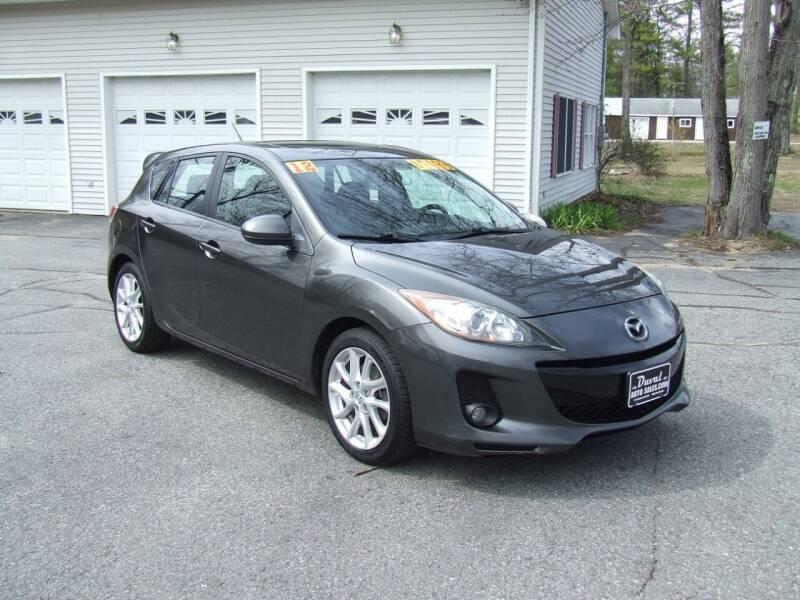 2012 Mazda MAZDA3 for sale at DUVAL AUTO SALES in Turner ME