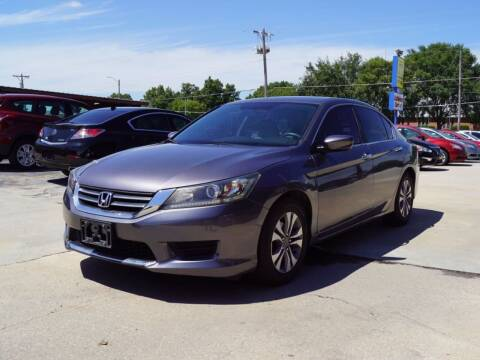 2014 Honda Accord for sale at Kansas Auto Sales in Wichita KS