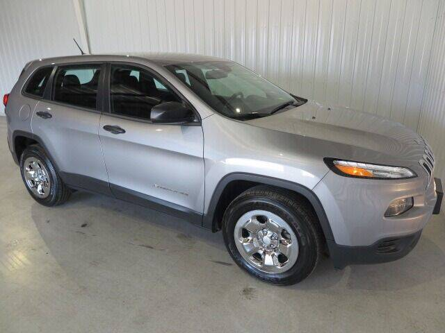2016 Jeep Cherokee for sale at PORTAGE MOTORS in Portage WI