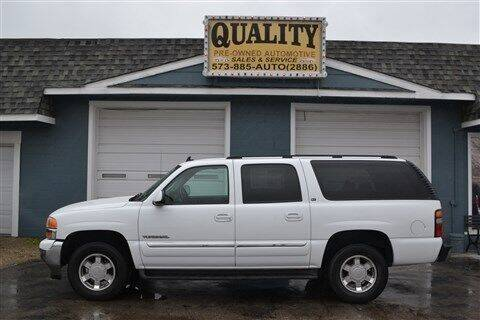 2006 GMC Yukon XL for sale at Quality Pre-Owned Automotive in Cuba MO