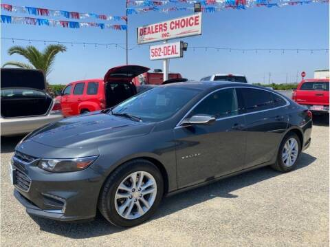 2017 Chevrolet Malibu for sale at Dealers Choice Inc in Farmersville CA