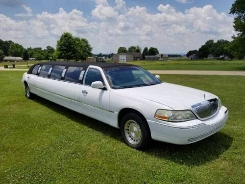 1999 Lincoln Town Car for sale at Classic Car Deals in Cadillac MI