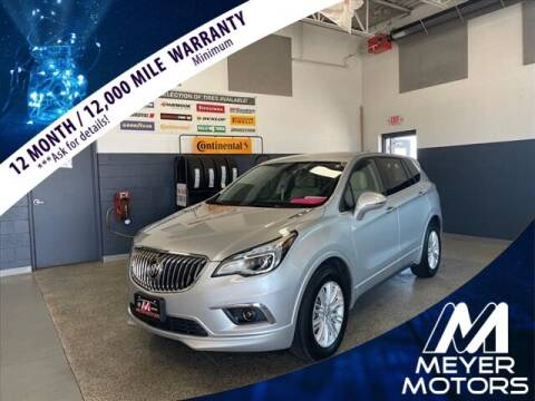 2018 Buick Envision for sale at Meyer Motors in Plymouth WI