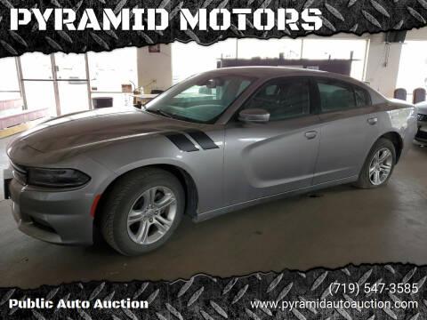 2017 Dodge Charger for sale at PYRAMID MOTORS - Pueblo Lot in Pueblo CO