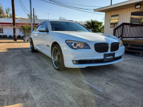 2011 BMW 7 Series for sale at Zora Motors in Houston TX