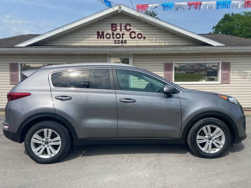 2017 Kia Sportage for sale at Bic Motors in Jackson MO